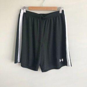 Under Armour Black Elastic Waist Training Shorts Size Large